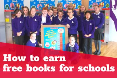 How to earn free books for your school