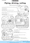 Flying, driving, sailing (1 page)