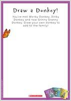 Grinny Granny Donkey Activity Pack