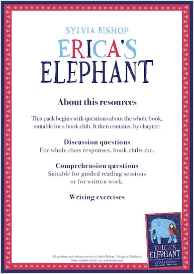 Erica's Elephant Resource Pack