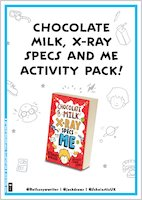 Chocolate Milk, X-Ray Specs and Me Activity Pack
