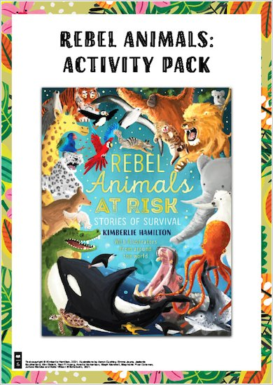Rebel Animals Activity Pack