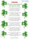 St Patrick's Day – poem