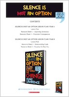 Silence Is Not An Option Teaching Resources