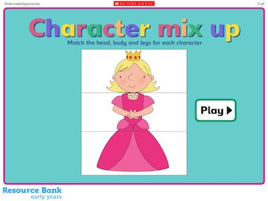 Character mix up