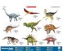Dinosaurs audio poster