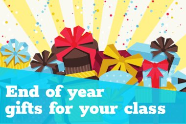 End of year gifts for your class