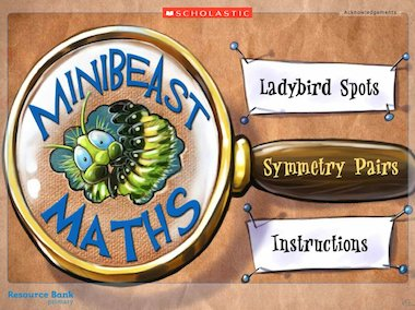 Minibeast maths! - interactive resource