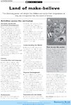 Imaginary worlds: Land of make-believe - activities (1 page)