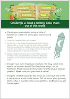 Scholastic Summer Reading Trail Challenge 2 activities