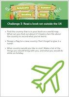 Scholastic Summer Reading Trail Challenge 3 activities
