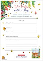 Betsy Buglove Saves the Bees Activity Sheets