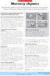 Nursery rhymes - activities (1 page)
