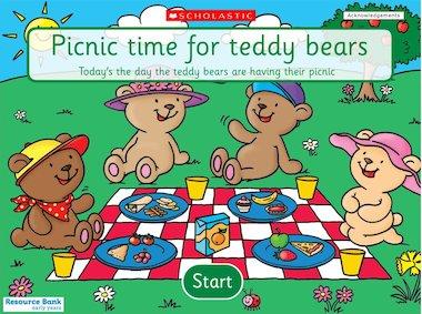 Teddy Bear Picnic game