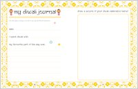 All About Diwali My Journal